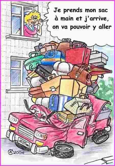 Célèbre Préparation des valises ! - Let's Go KL77